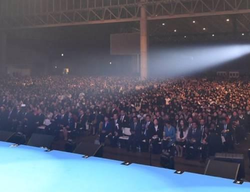 Moder Moon taler til 10.000 i Japan