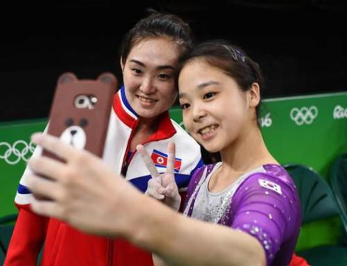 OL-deltaker fra Familieforbundet får mye oppmerksomhet