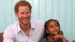 Prince Harry visits the Joshua House Children's Centre in Georgetown, Guyana