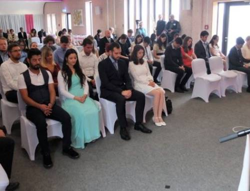 17 par i stor vielses-seremoni i Tyskland
